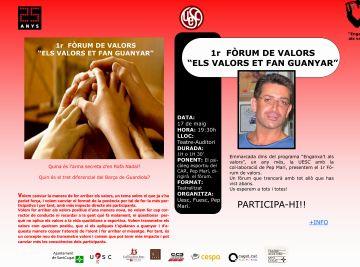 'Els valors et fan guanyar', el primer fòrum de valors de la UESC