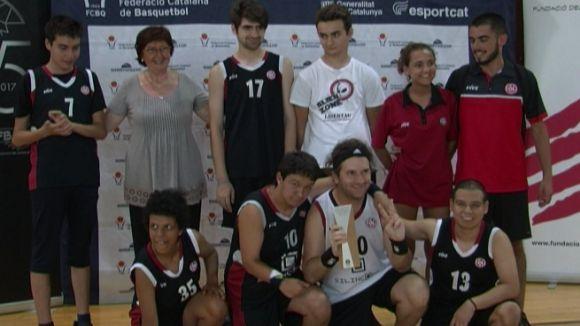 Imatge dels jugadors de la UESC-ASDI