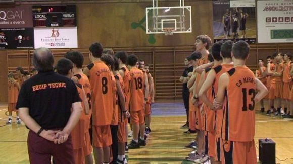 Bàsquet i família a la presentació del CB Mira-sol