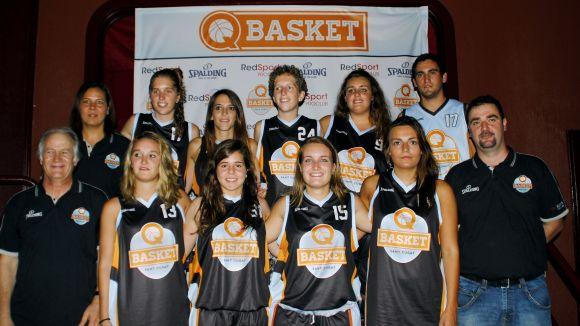 El Qbasket femení enceta el curs amb bones sensacions però amb derrota