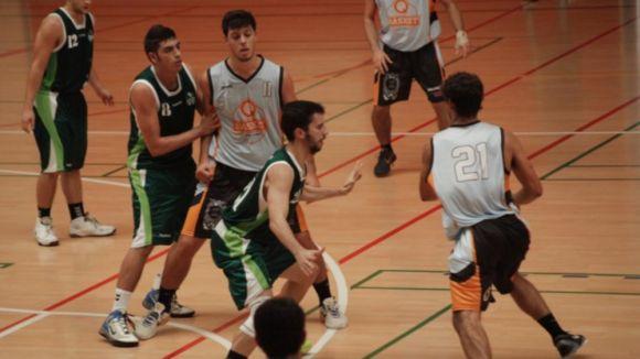 El Qbasket Sant Cugat continua trepitjant molt fort a la lliga amb onze d'onze