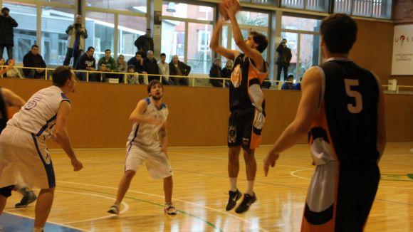 El Qbasket Sant Cugat cau derrotat al camp de la Unió Bàsquet Sant Adrià B