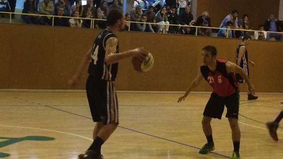 El Qbasket suma la tercera victòria consecutiva davant el Sant Quirze