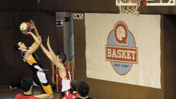 El Qbasket Sant Cugat masculí rep un equip de la part baixa per seguir sumant