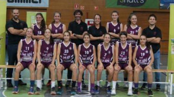 El Femení Sant Adrià i el Basket Almeda es juguen el Campionat de Catalunya infantil al pav3