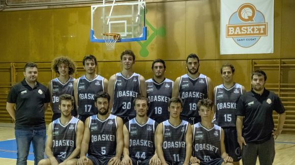 El Qbasket masculí ha caigut derrotat a la pista del Cerdanyola B / Font: Qbasket Sant Cugat