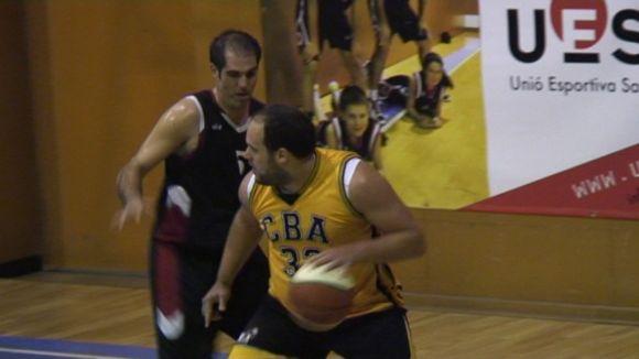 El joc interior dóna la victòria a la UE Sant Cugat a la pista de la Salle Manresa