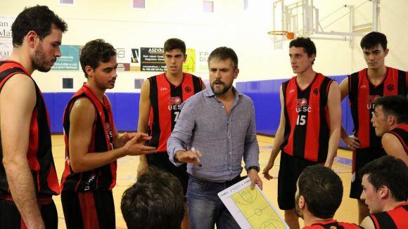 Cesc Senpau, entrenador de la UESC / Font: UESC