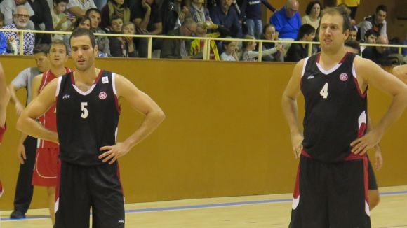 Jordi Costa i Sergio Clemente, jugadors de la UESC