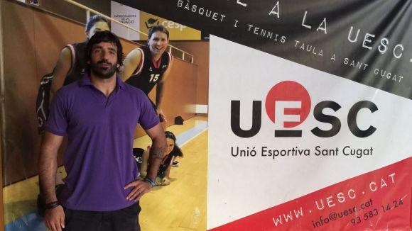 Pere Soler reforçarà el joc interior de la UE Sant Cugat la temporada que ve
