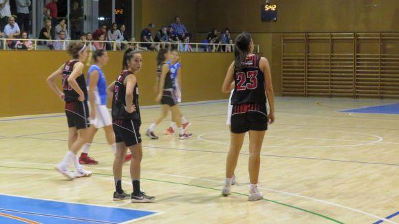 Imatge d'un partit d'aquesta temporada de la UESC femenina / Foto: Cugat.cat