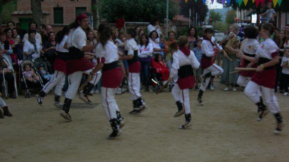 Els veïns del barri del Monestir, entregats amb la seva Festa Major