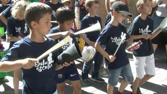 La 4a Festa de la Percussió Infantil omple Sant Cugat de batucada