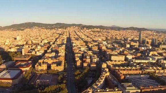 Hemav grava imatges aèries de Barcelona per mostrar l'ús dels 'drones'