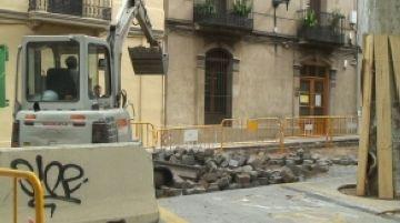 El carrer Sant Antoni quedarà tallat al trànsit durant cinc setmanes a partir de dilluns