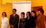 L'alcalde Lluís Recoder ha presidit l'acte de lliurament de la beca 'Dona Informació'