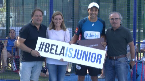 'Bela' ha estat nomenat soci honorífic del Junior
