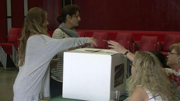 El 'sí' a la independència de Bellaterra guanya amb un 94% dels vots