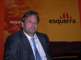 Benach: 'L'objectiu d'ERC pel 9-M és consolidar el grup parlamentari a Madrid'