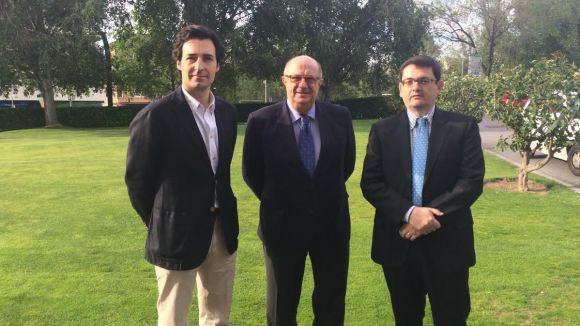 Santiago Fisas (PP) posa en valor la participació del SantCugatCreix al programa Erasmus+