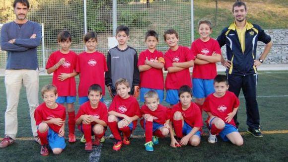El benjamí B de la Penya Blaugrana Sant Cugat es proclama campió de lliga