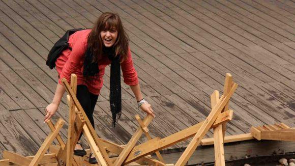 Una alumna de l'ETSAV, al concurs per dissenyar una parada ocellaire