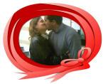 Es tracta de fer-se el millor petó d'enamorats.
