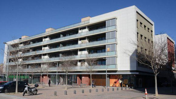 Vista exterior de la biblioteca Miquel Batllori / Foto: localpress