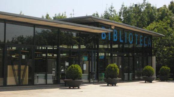 La biblioteca Gabriel Ferrater serà l'única biblioteca oberta a l'agost
