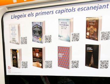 Ferrocarrils de la Generalitat instal·la una biblioteca virtual en els seus trens