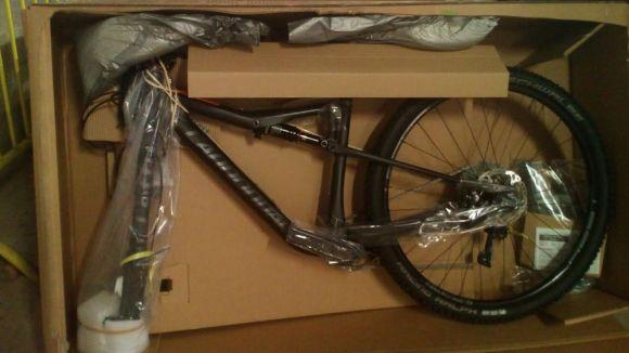 Una de les bicis robades / foto: Mossos