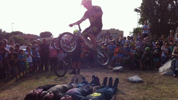 Inaugurat el circuit de bici trial
