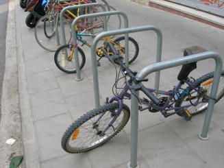 L'Ajuntament recomana tenir ben identificades les bicicletes per evitar robatoris