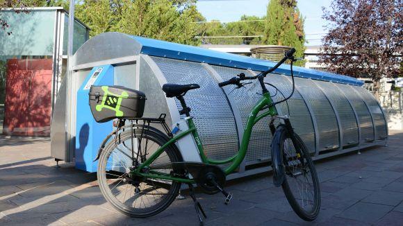 Creix un 55% el nombre d'usuaris del Bicibox a Sant Cugat