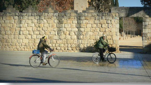 Sant Cugat oficialitza al ple la seva aposta per l'ús de la bicicleta