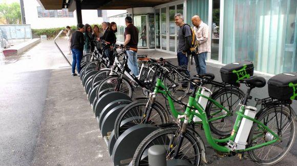 Els treballadors de l'Ajuntament tindran bicicletes elèctriques per anar a la feina