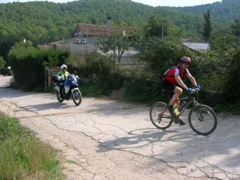L'Ajuntament vigilarà l'entorn de Can Borrell per evitar accidents entre vianants i ciclistes