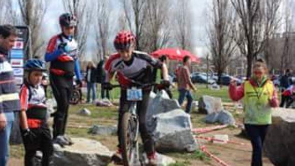 L'Open Vallès-BCN reuneix una vuitantena de ciclistes a Sant Cugat