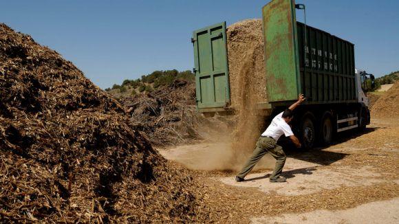 Sant Cugat es mou per acollir el centre d'acopi de biomassa del Consell Comarcal