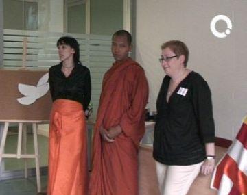Sant Cugat, seu catalana de les celebracions del 65è aniversari de la líder birmana Aung San Suu Kyi