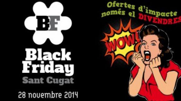 Sant Cugat Comerç impulsa divendres un 'Black Friday' a la ciutat