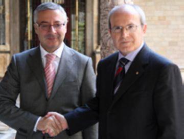 El ministre José Blanco i el president Montilla han anunciat l'acord aquest dijous