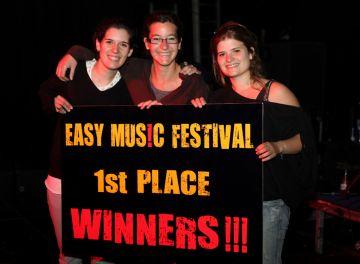 Les Blue Velvet, guanyadores de l'Easy Music Festival