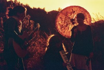 Blue Velvet en una foto de promoció