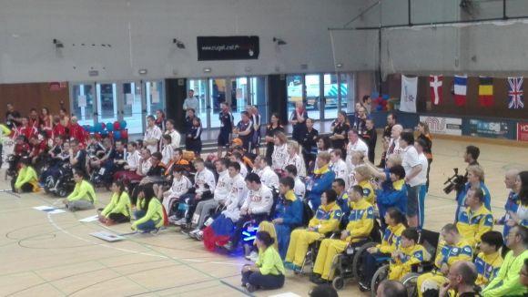 Inauguració de l'European Regional Open de Boccia