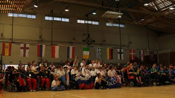Una imatge de la inauguració | Foto: ebocciacup Sant Cugat
