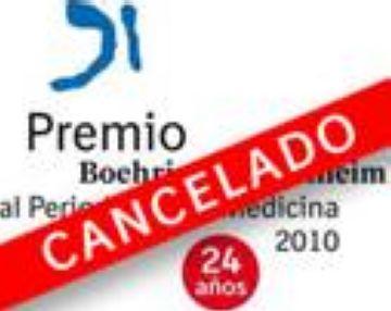 Boehringer Ingelheim cancel·la el seu Premi de Periodisme de Medicina