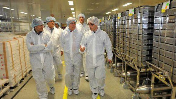 El conseller de Salut visita la planta de Boehringer Ingelheim a Sant Cugat