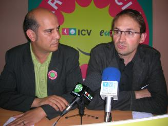 Joan Herrera tancarà la campanya d'ICV-EUiA al Parlament espanyol a Sant Cugat