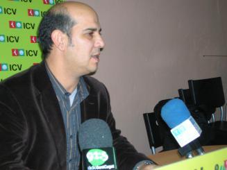 El portaveu d'ICV, Xavier Boix, en una imatge d'arxiu